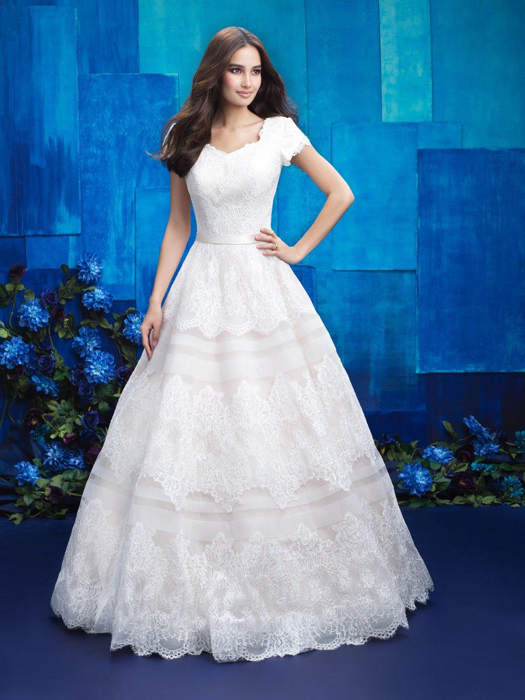 25 Modest Ball Gown Wedding Dresses - 13