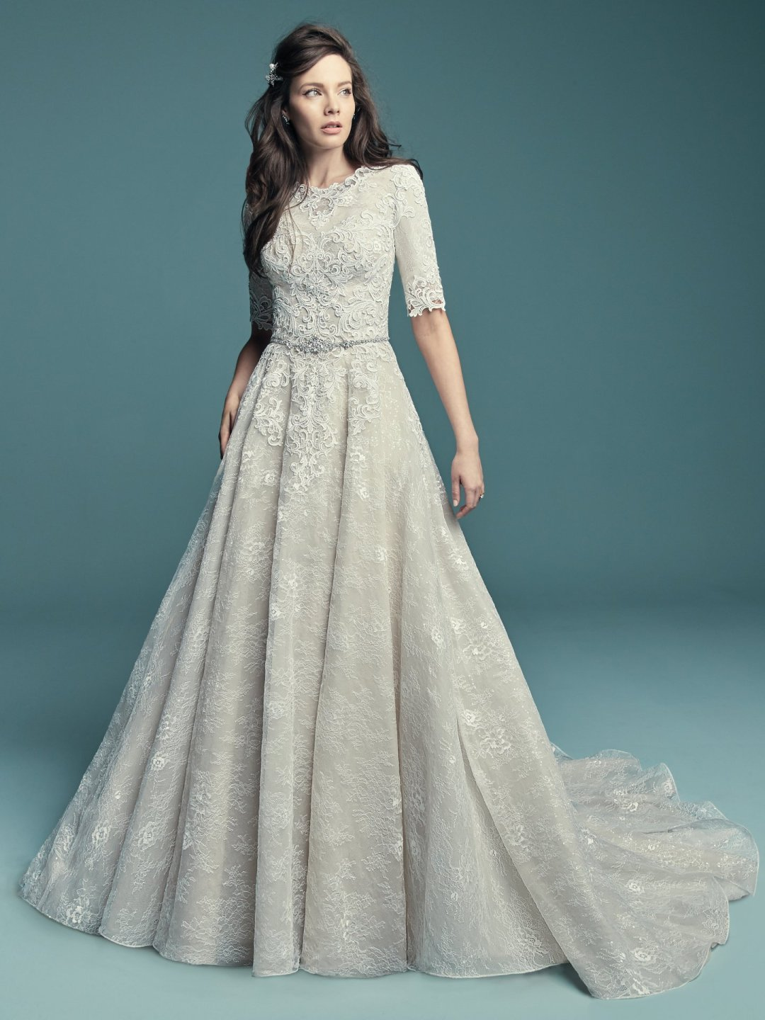 25 Modest Ball Gown Wedding Dresses - 16