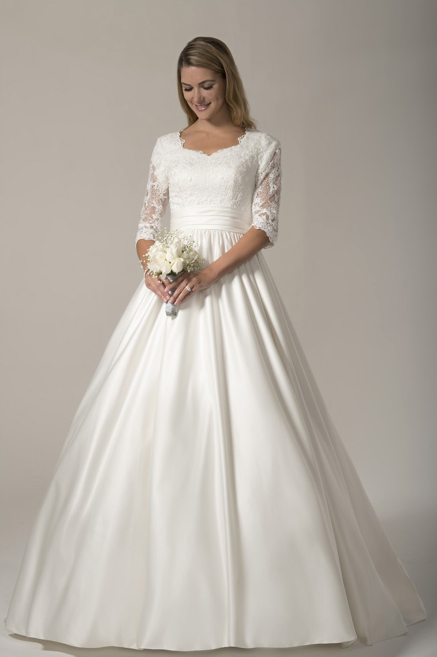 25 Modest Ball Gown Wedding Dresses - 18