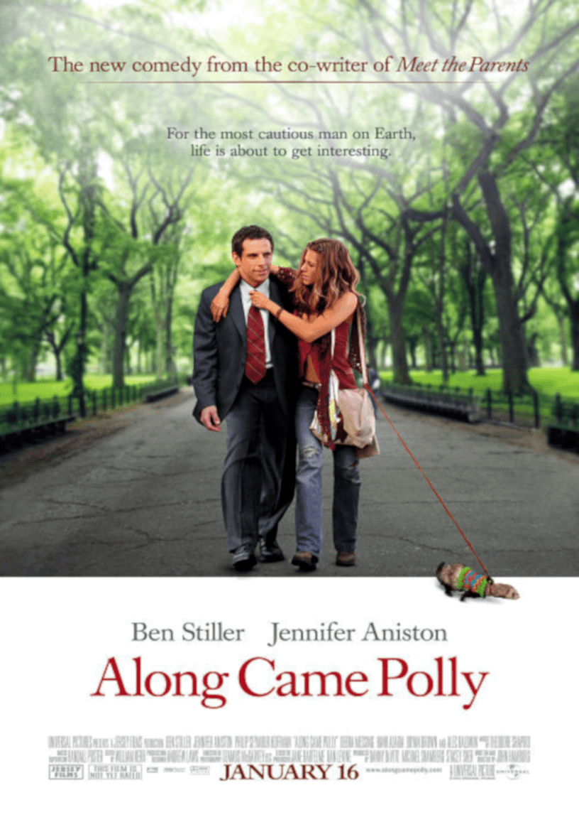 Movie poster for Along Came Polly 2004 ldwolff