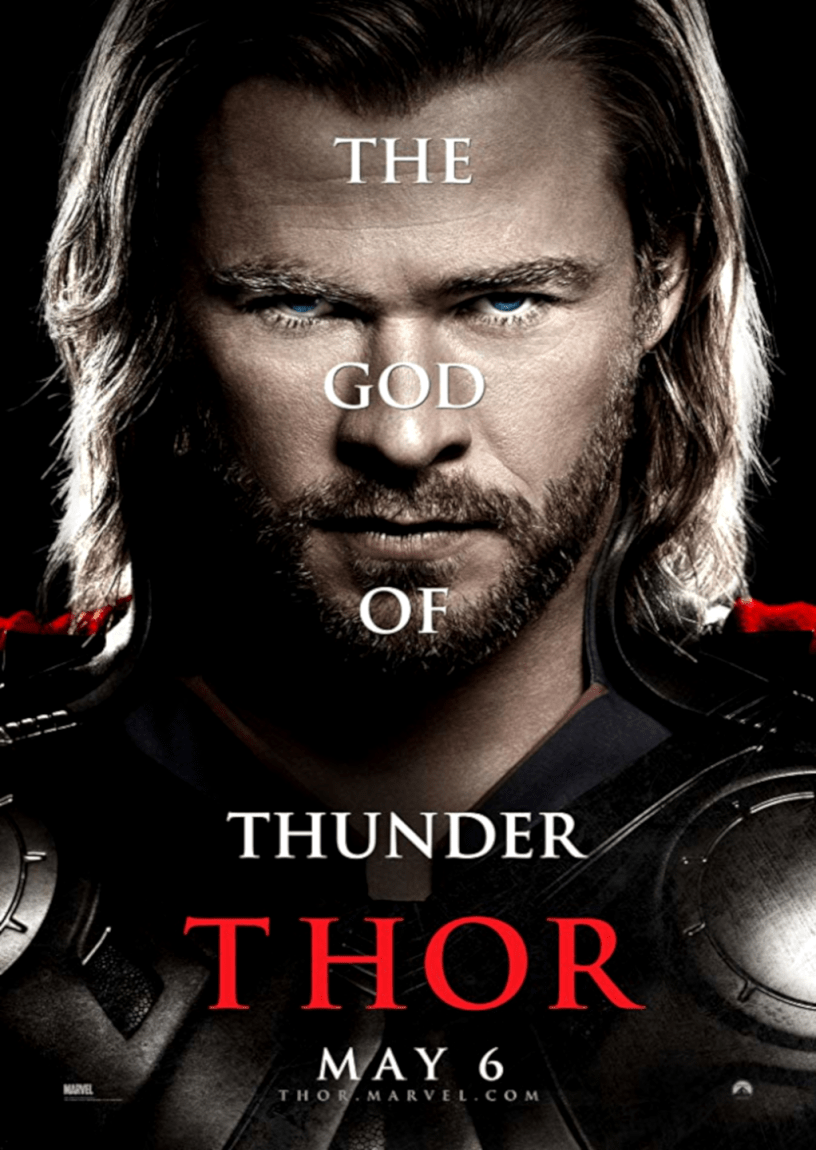Movie poster for Thor 2011 ldwolff