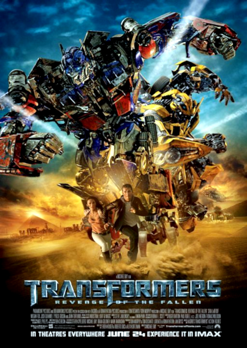 Movie poster for Transformers: Revenge of the Fallen 2009 ldwolff