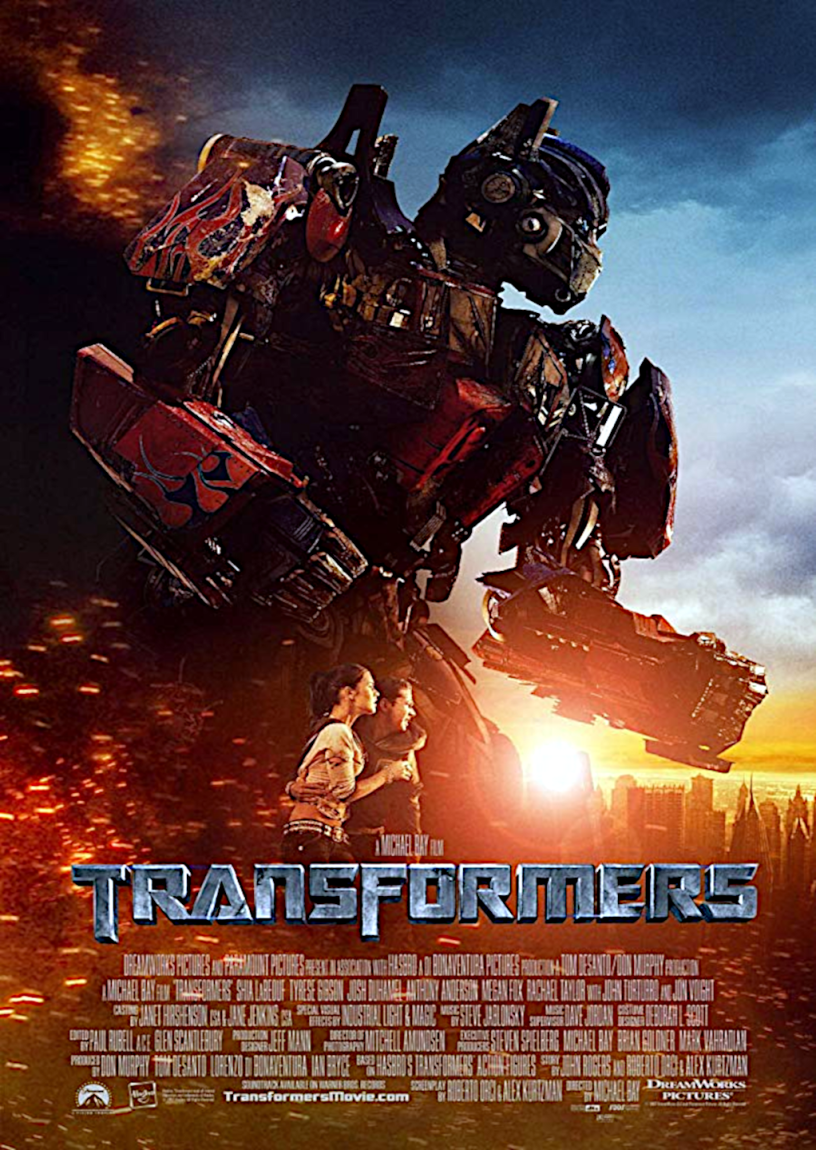 Movie poster for Transformers 2007 ldwolff