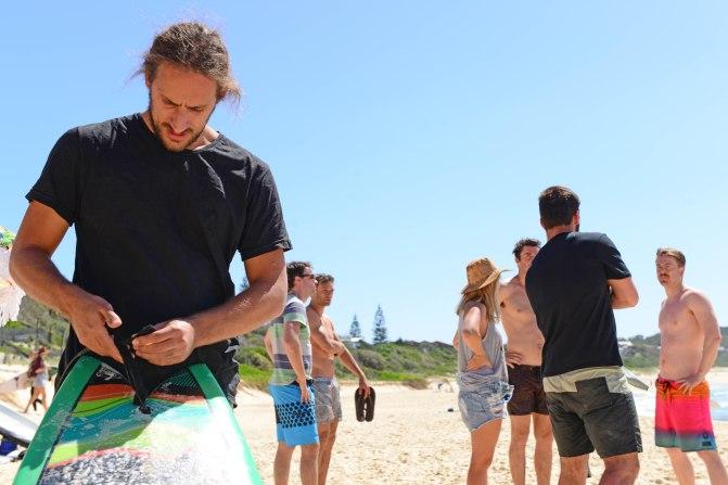 Davey Surf Prepping