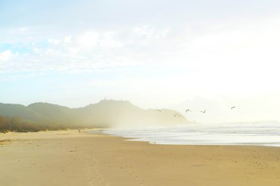 Misty Morning Byron Bay