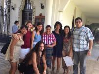 Con Rigoberta Menchu