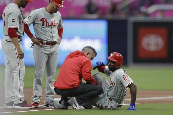 Image result for andrew mccutchen injury AP Photo 600 x 400