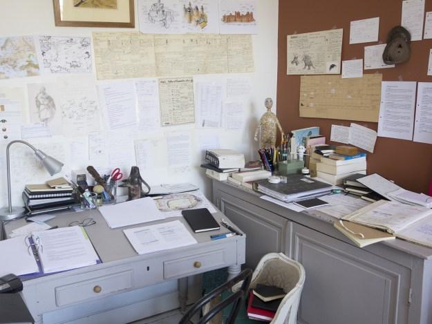 Le bureau de Thomas Lavachery