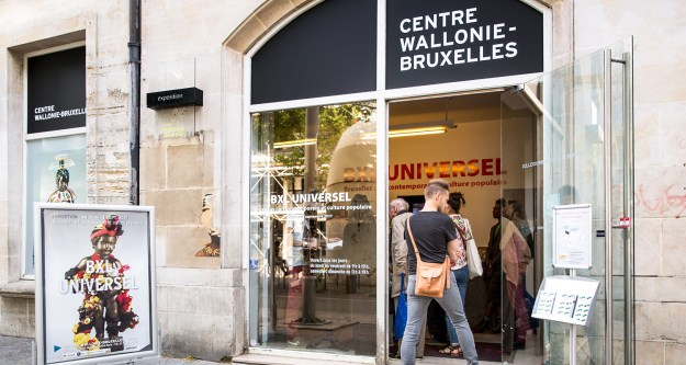 Centre Wallonie-Bruxelles à Paris