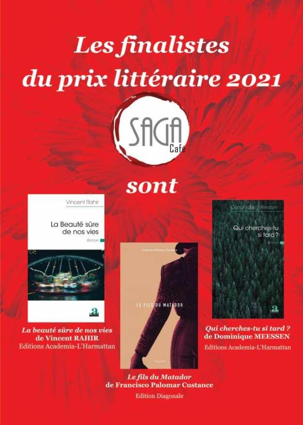 prix saga 2021 finalistes