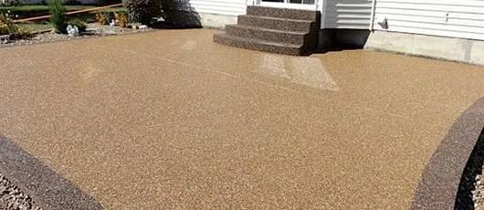 epoxy concrete flooring custom