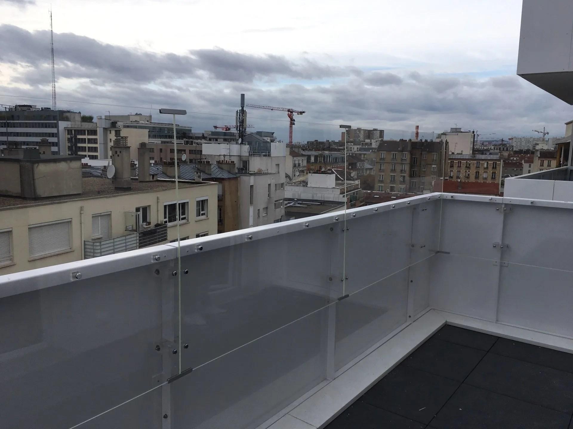 Protection Balcon Plexiglas Barriere Et Garde Corps Sur Mesure