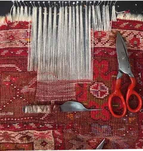 tapis anciens restauration et