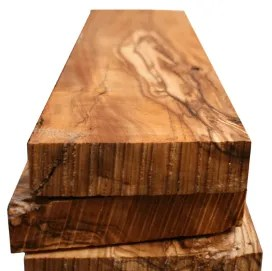 panneaux bois massif olivier