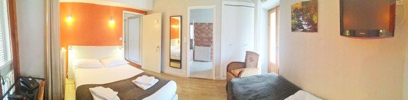 Chambre N°7 - Junior Supérieure - Hôtel le Chalet à Ax les Thermes