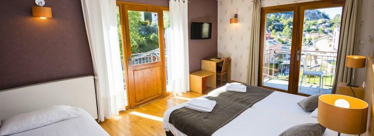 Panoramique Chambre Junior Prestige - Hôtel *** le Chalet à Ax les Thermes