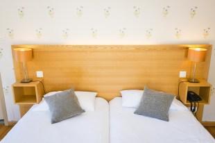 Tête de lit Chambre Junior Prestige - Hôtel *** le Chalet à Ax les Thermes en Ariège Pyrénées