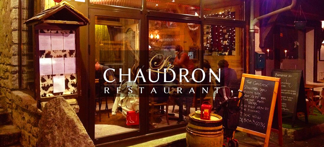 Restaurant Le Chaudron Chamonix