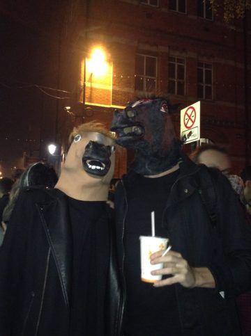 cheval comme masques