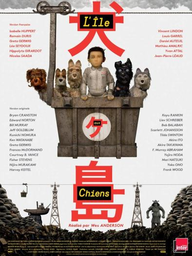 L'île aux Chiens (the Isle of Dogs)