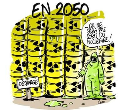 Nouveau chapitre dans la saga des déchets du nucléaire civil