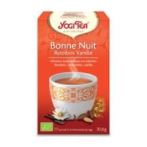 Yogi Tea – Bonne Nuit Rooibos Vanille bio (17 sachets)