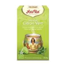 Yogi Tea – Menthe Citron Vert bio (17 sachets)