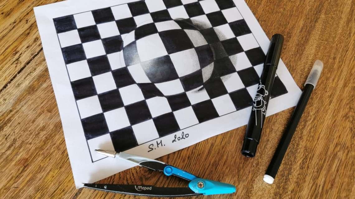 Débuter l'effet 3D en dessin !
