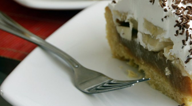 Banoffee: Pie de Caramelo, Banana y Crema