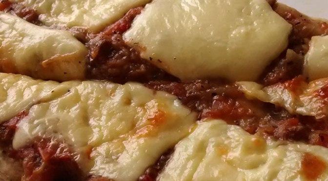 Pizza a la Norma
