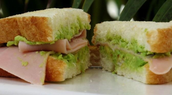 Sandwich de Miga: Jamón Palta