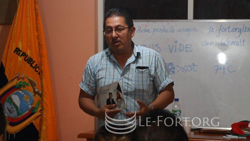Chef Milton Sambonino, hablándonos sobre las certificaciones de SETEC