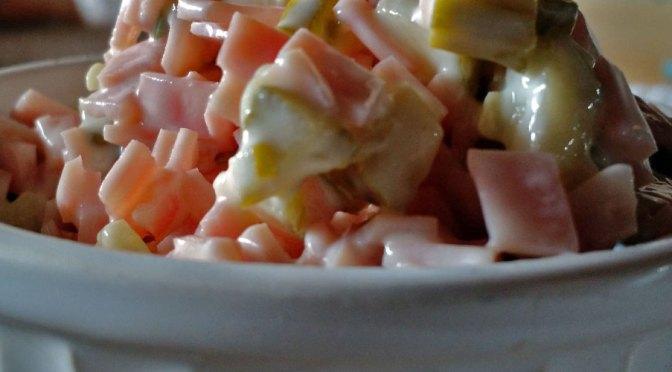 Pasta de Jamón y Pepinillos