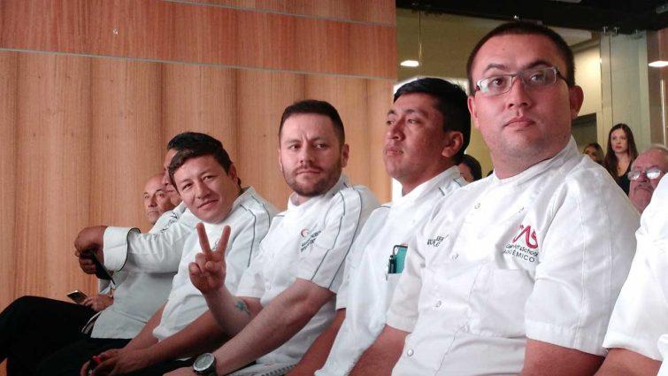 Algunos de los autores de la Guía de Técnicas Culinarias