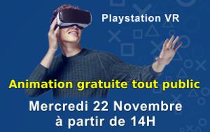 La réalité virtuelle en démonstration au Forum