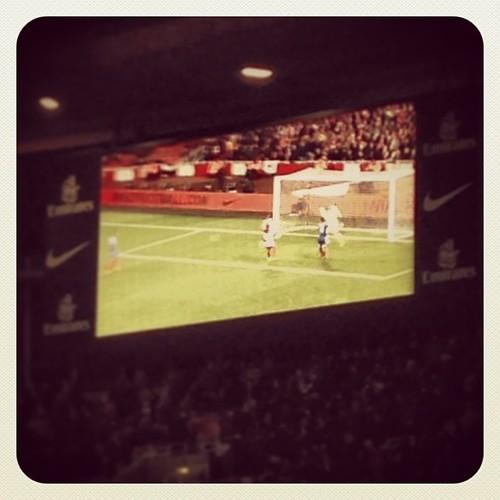 Nik B replay of a goal. First in 1071 mins. Treasure it.