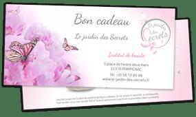 institut de beauté Pompignac jardin des screts