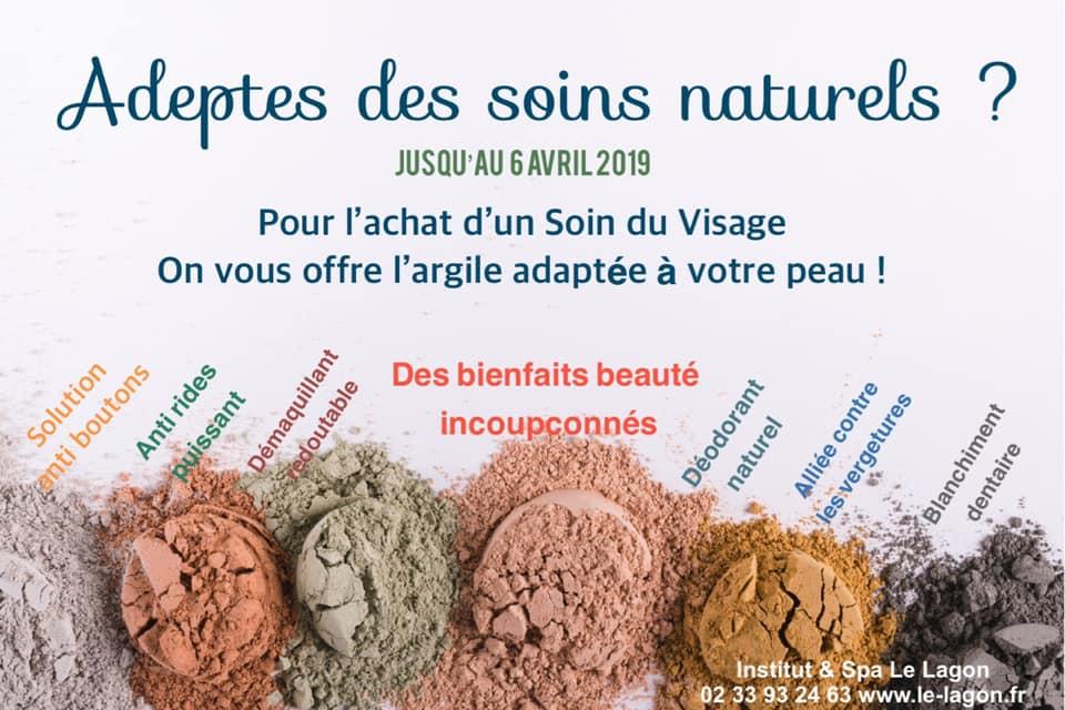 Offrez à votre peau un soin du visage aux argiles