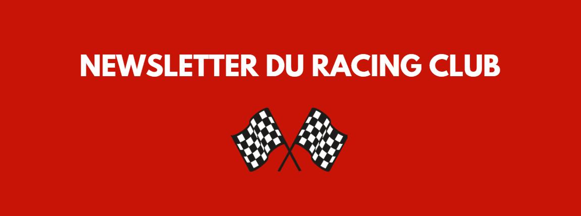 RACING Newsletter