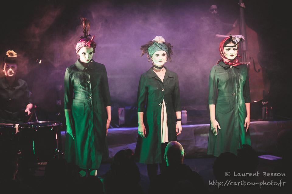 Dakh Daughters, Café de la Danse, 16/01/17 © Laurent Besson | caribou-photo.fr | Reproduction interdite sans l'autorisation de l'auteur
