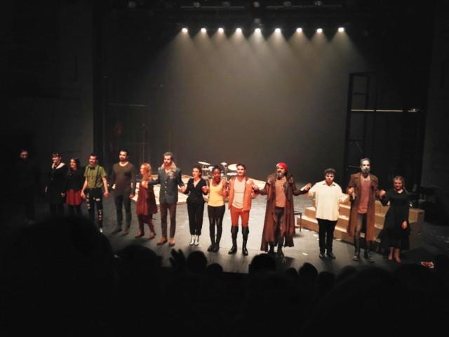 """""""Cyrano"""" par la Compagnie de la Jeunesse aimable, 2017 © Céline pour LMEN"""