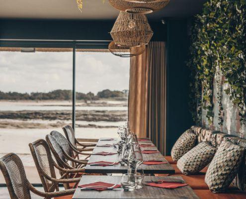 restaurant bord de mer le moulin vert lomener ploemeur