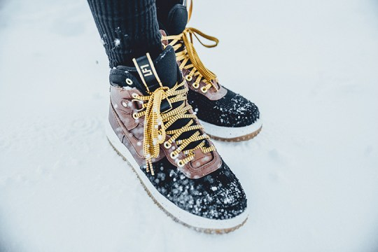 23_Sony Rise Festival_Xperia Z5_2 Alpes_Nike Air force one Duckboot