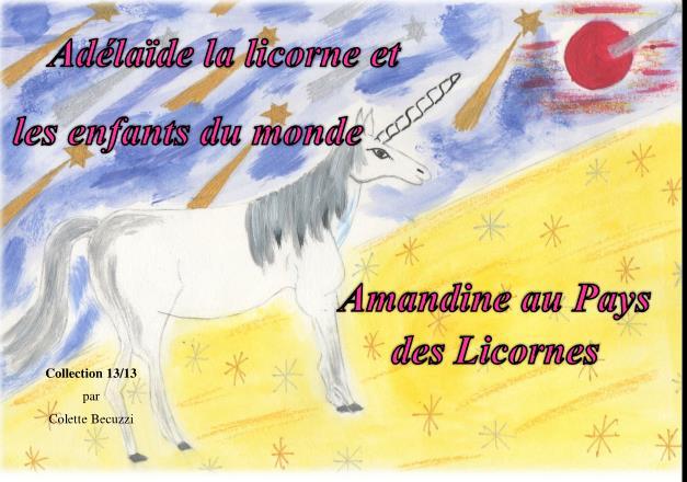 Amandine au Pays des Licornes (tome 13) – Colette Becuzzi