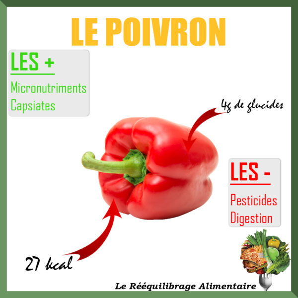 le poivron est riche en vitamine c