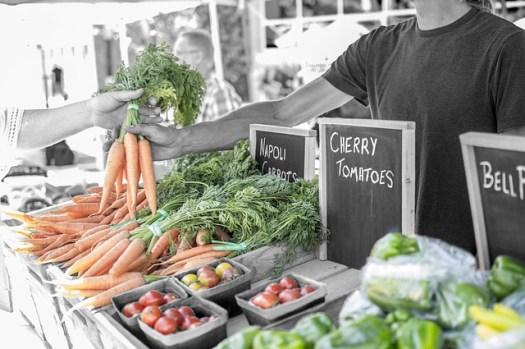 carotte du marché