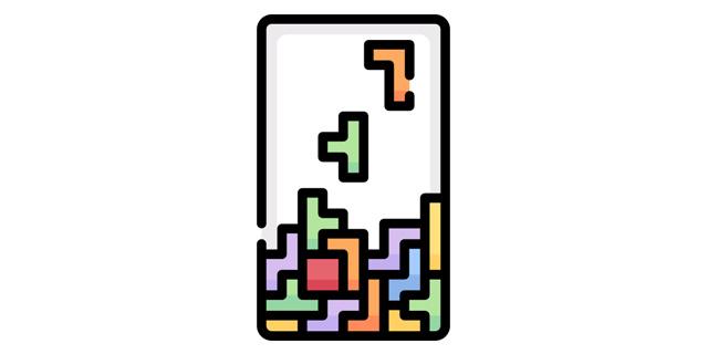 illustration tetris