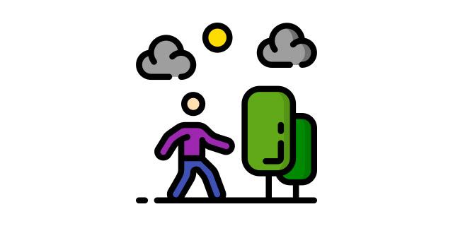 activités physiques non exercices promenade