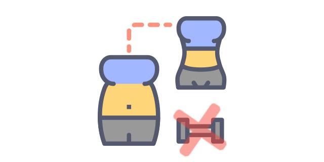 réussir à perdre du poids sans sport