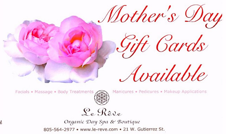 Le Reve Spa Mothers Day Gift Cards